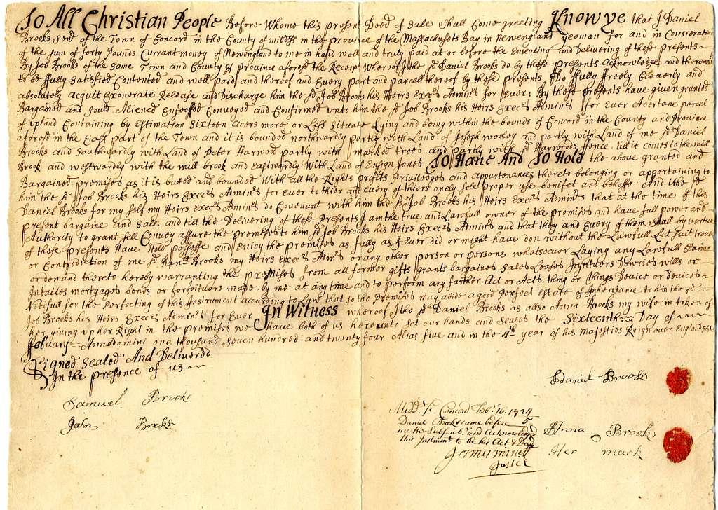 Eleazer Brooks scrapbook, 1740-1790