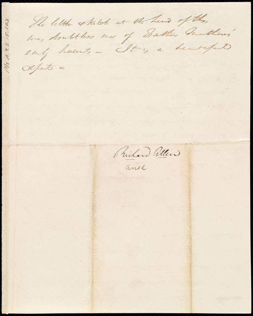 Letter from Richard Allen, Dublin, [Ireland], to Maria Weston Chapman, 1st [day] of 12th mo[nth] 1841