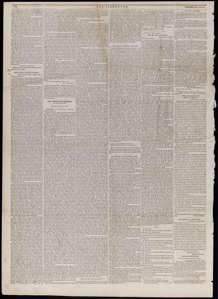 The liberator. v.12:no.45(1842:Nov.11)