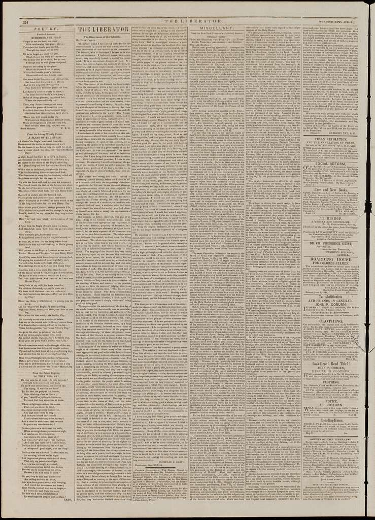 The liberator. v.14:no.31(1844:Aug.2)