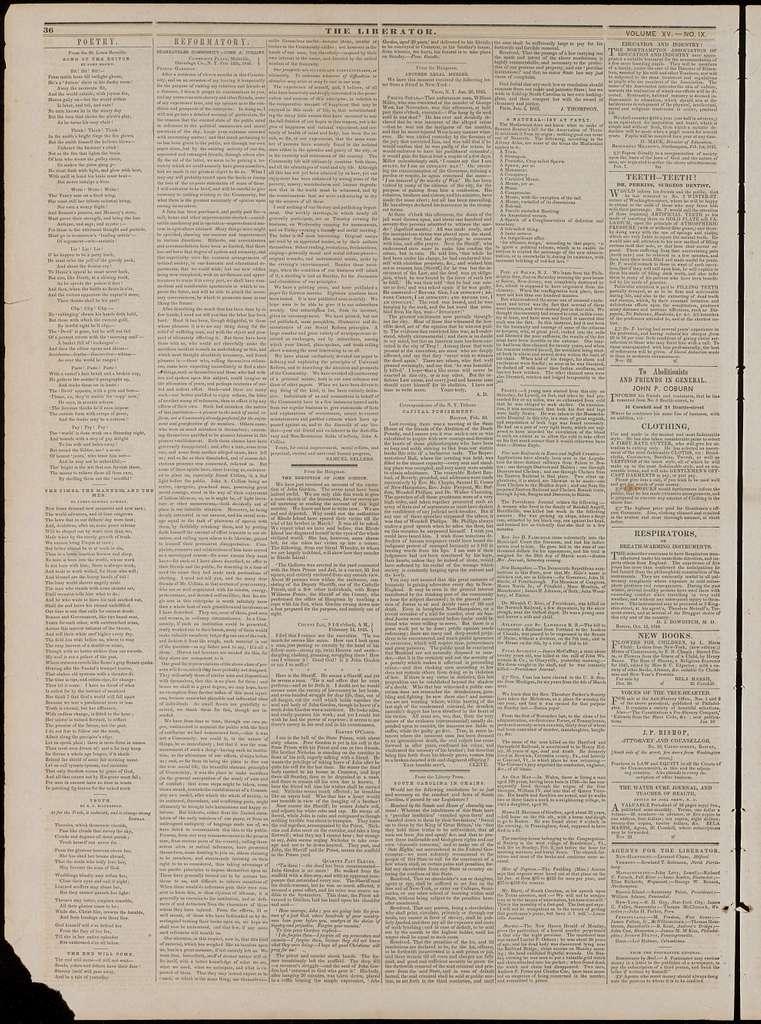 The liberator. v.15:no.9(1845:Feb.28)