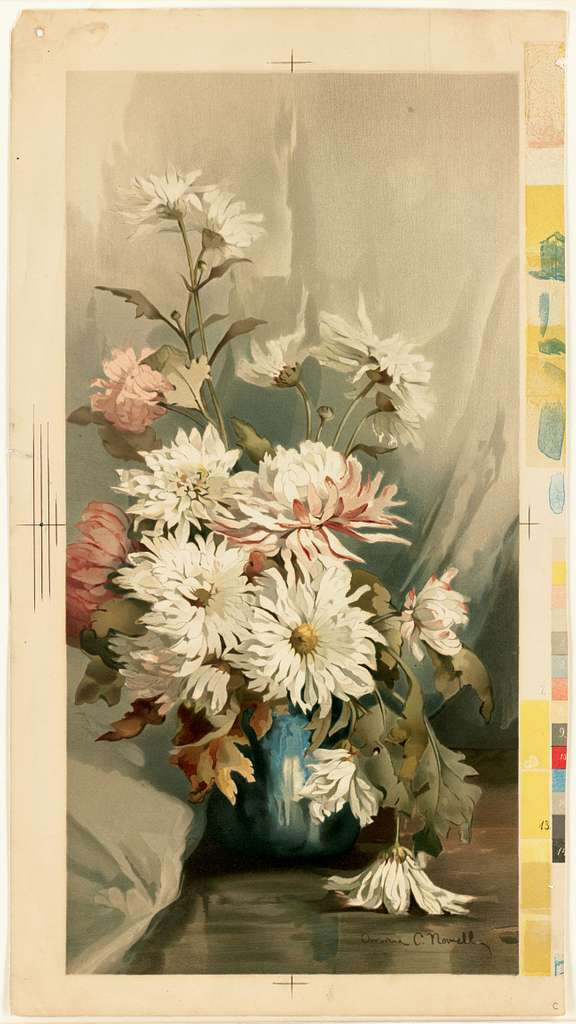 Chrysanthemums No. 5