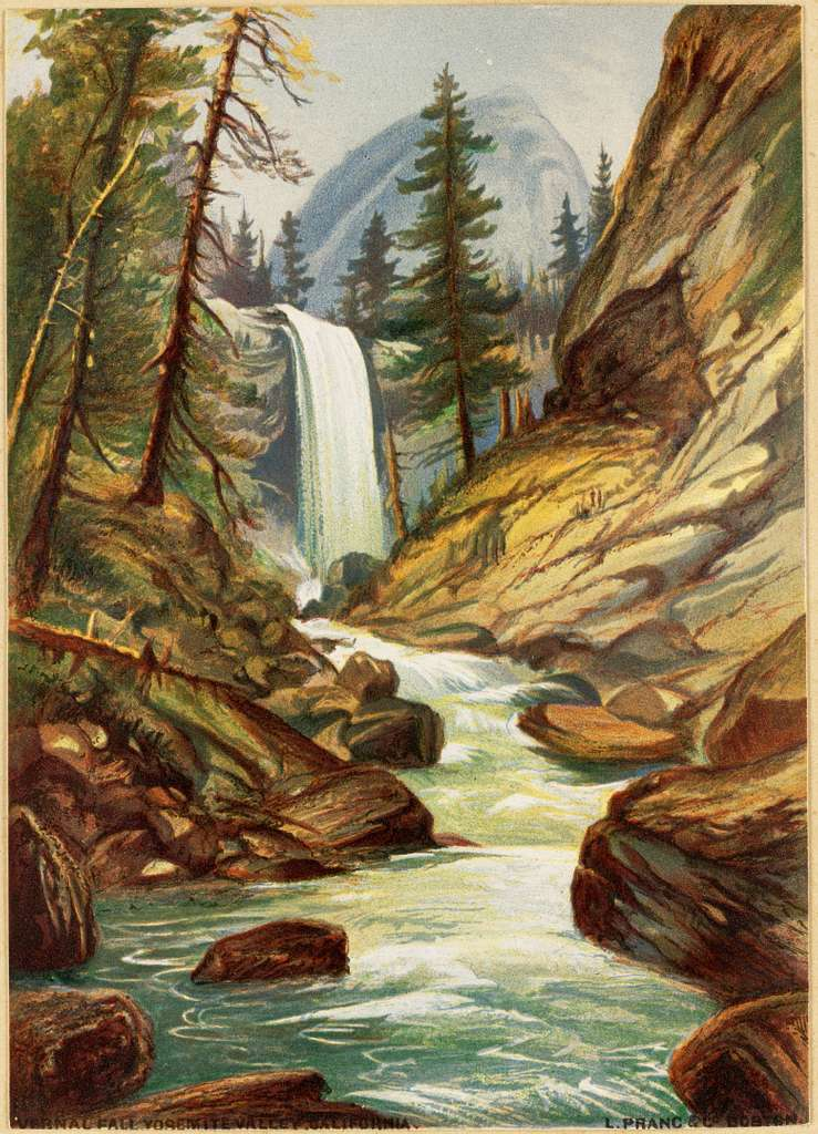 Vernal Fall, Yosemite Valley, California
