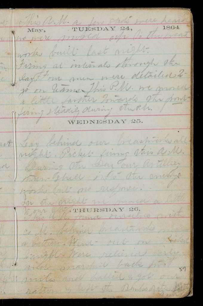 A.E. Vining diary
