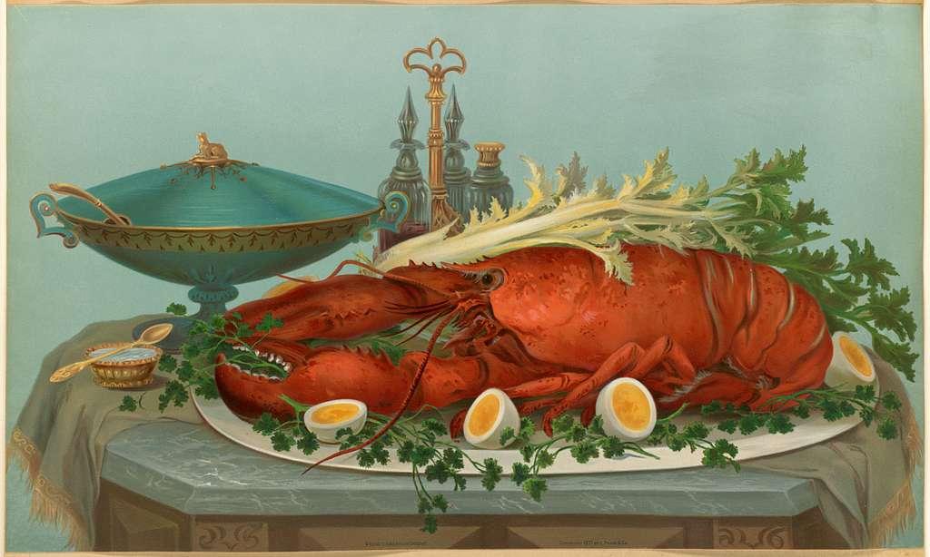 Lobster, Eggs, Celery