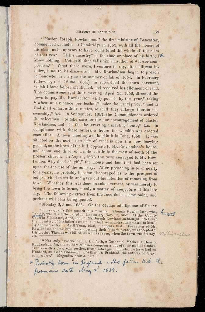 A miscellaneous collection of historical papers and memoranda relating to the history and geography of Lancaster : from its purchase from the Indians AD 1643 to AD 1880