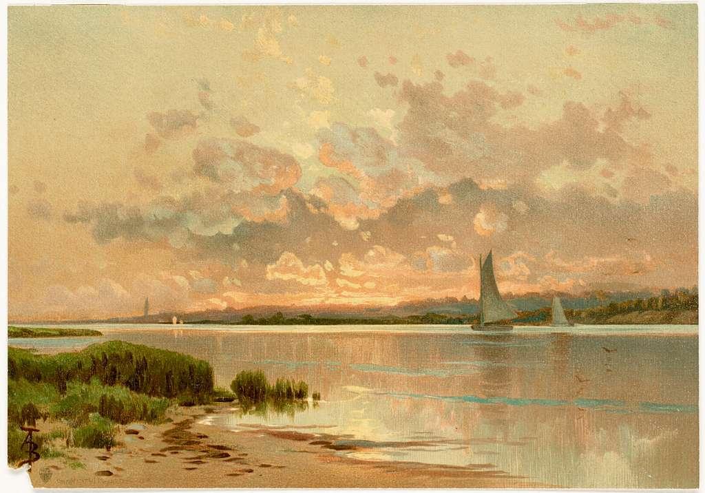 Sunset, Shinnecock Bay