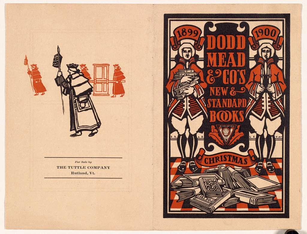 Dodd Mead & Co's new & standard books, Christmas, 1899-1900