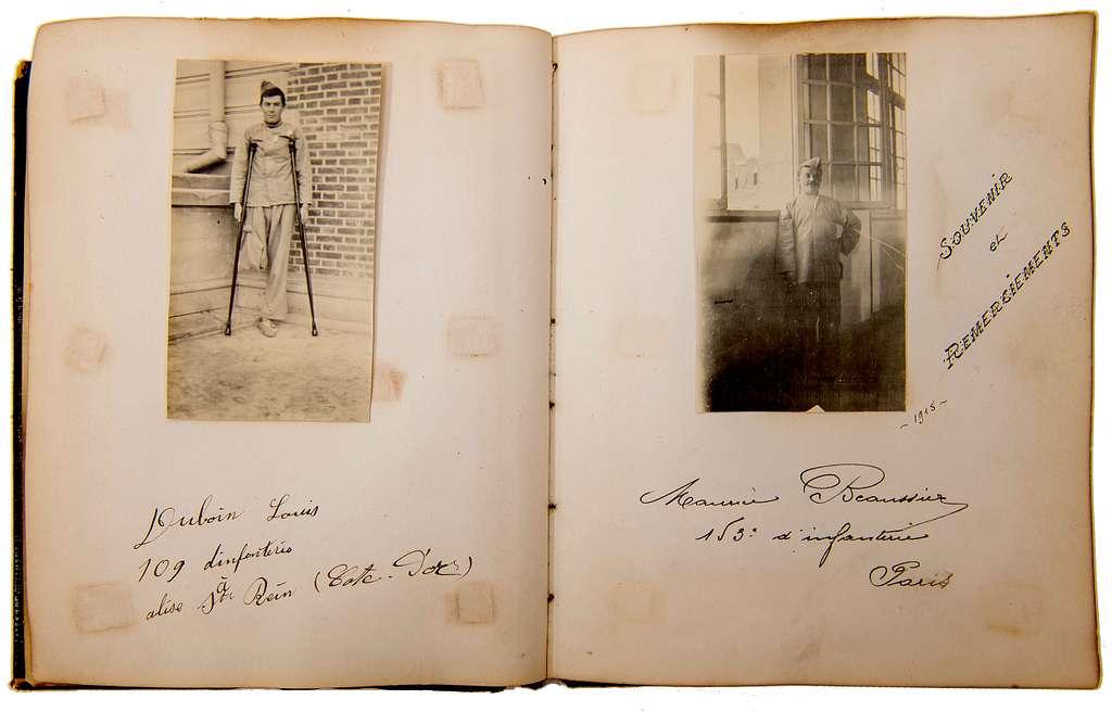 Scrapbook of Helen Joy Hinckley