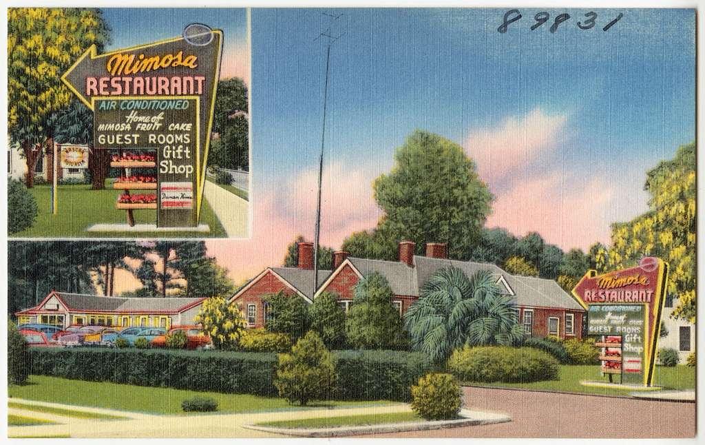 Mimosa, the home of good foods, 311 South Main -- U.S. No. 1, Baxley Georgia