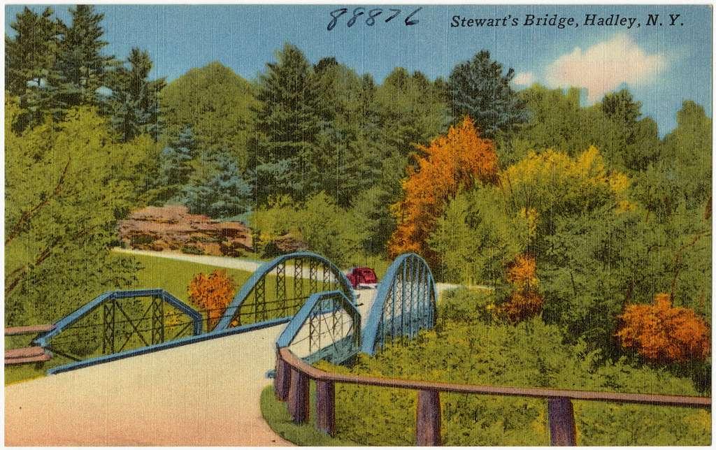 Stewart's Bridge, Hadley, N. Y.