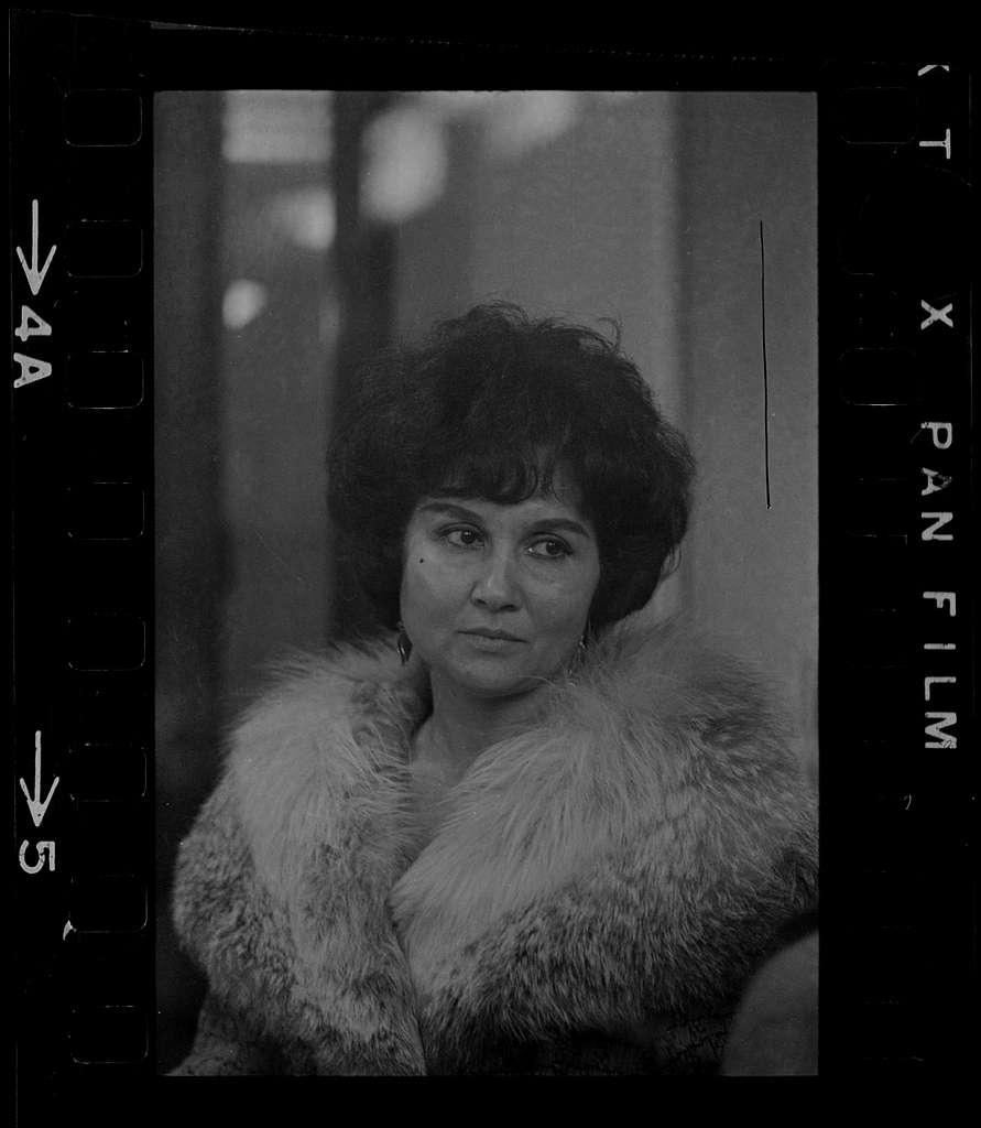 Mrs. Helen Clark of Englewood, N. J., the mother of strangler victim Sophie Clark attended the Middlesex Superior Court trial of Albert DeSalvo